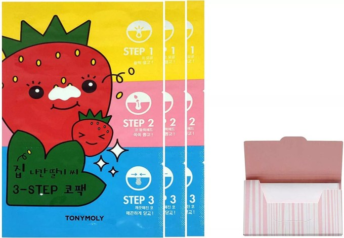 TONYMOLY Seedless 3-Step Nose Pack