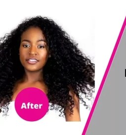 clip in hair extensions before and after African American