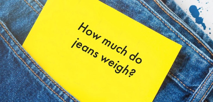 How much do jeans weigh feature