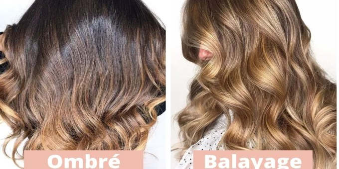 Is balayage the same as ombré