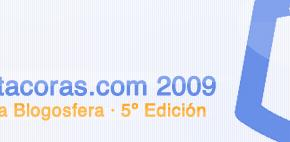 Ibebes.es agradece a todos sus lectores por hacer a este blog partícipe del Premio Bitacoras 2009!