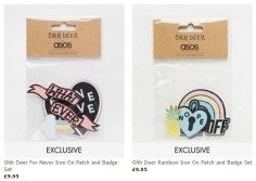 asos patch pack