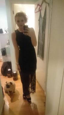 Dress is Miss Selfridge