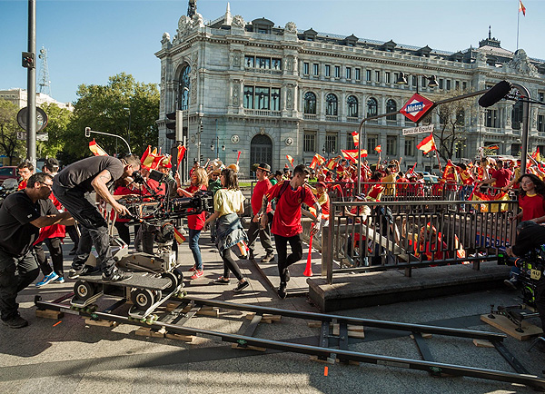 Madrid bate récord de rodajes de series en 2019