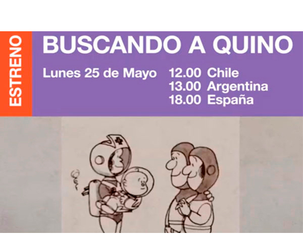"""Estrenan """"Buscando a Quino"""", documental sobre el creador de Mafalda"""