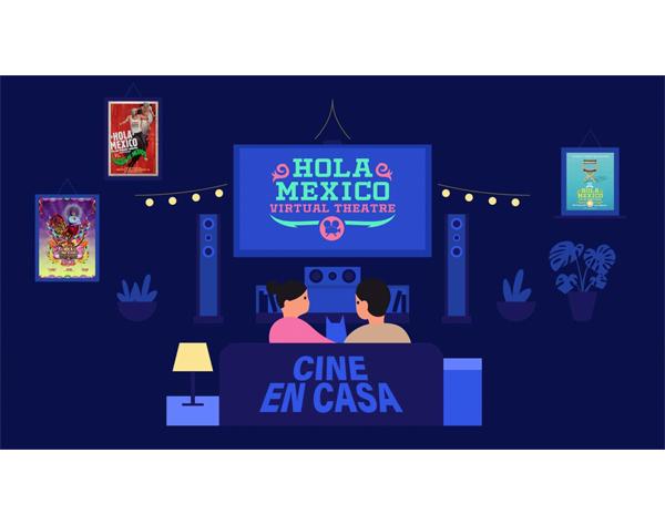 """Hola México Film Festival"" ofrece programa online"