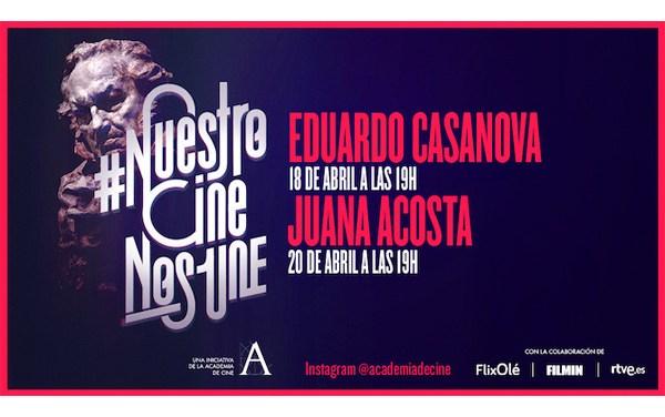 España: Eduardo Casanova y Juana Acosta esta semana en #NuestroCineNosUne