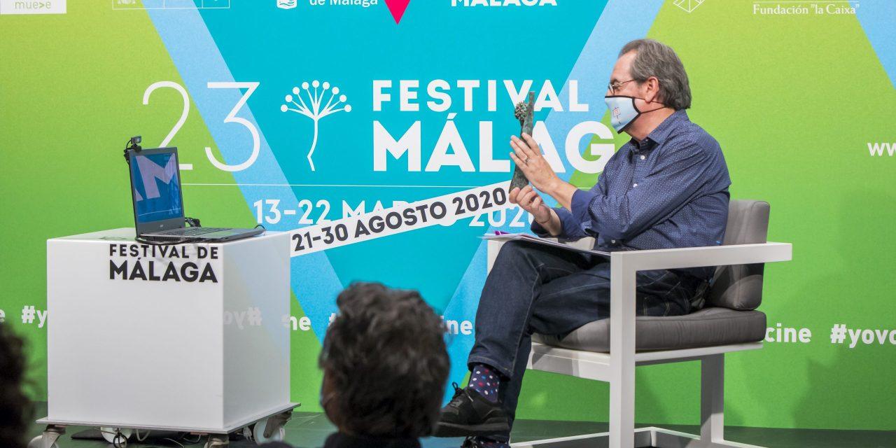 Arturo Ripstein recibe Premio Retrospectiva de Festival de Málaga