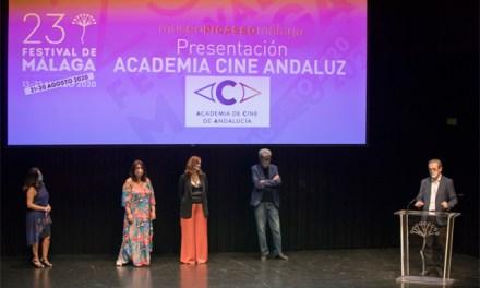 """Academia de Cine de Andalucía se """"estrena"""" en Festival de Málaga"""