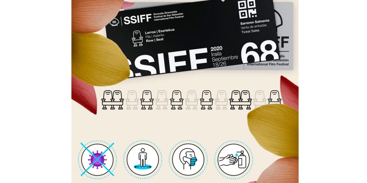 Covid: San Sebastián reduce aforo y número de películas