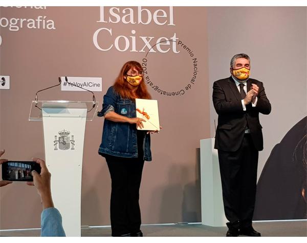 Recibe Isabel Coixet Premio de Cinematografía de España