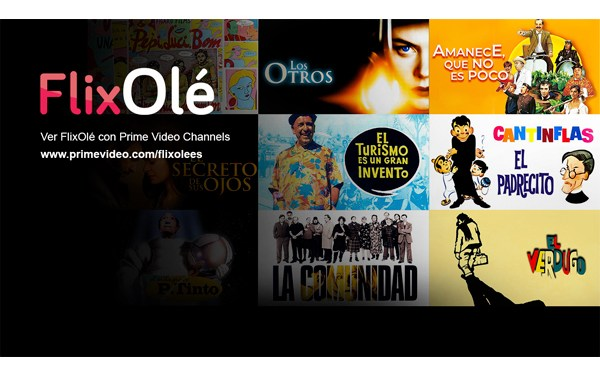 Flixolé firma acuerdo con Amazon Prime Video