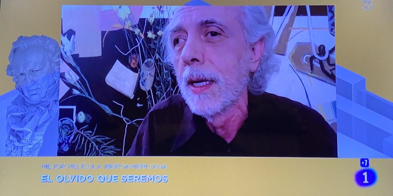 El olvido que seremos gana premio Goya a mejor película iberoamericana