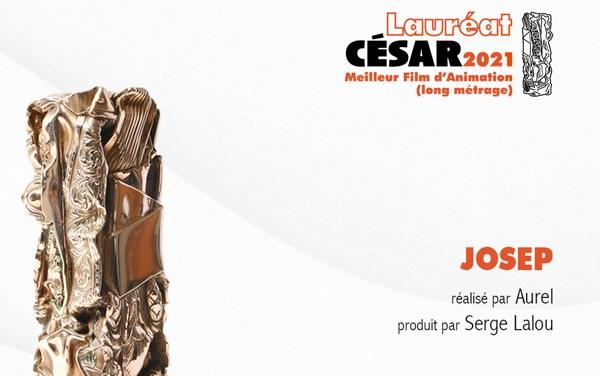 """Coproducción española """"Josep"""" gana el César de animación"""