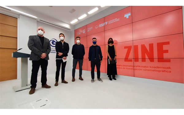 "Lanzan ""ZINE"" publicación de investigación sobre cine vasco"