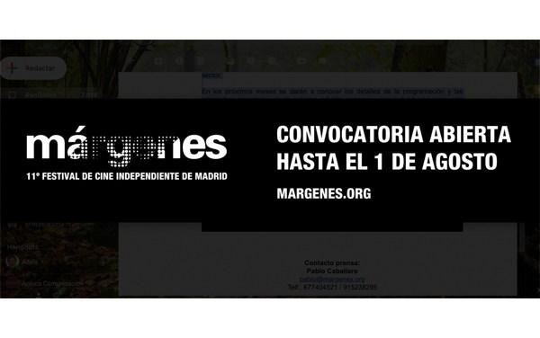 "Festival de cine independiente ""Márgenes"" abre convocatoria"