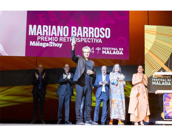 Mariano Barroso recibe Premio Retrospectiva de Festival de Málaga
