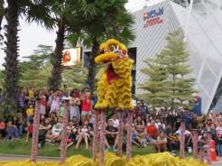 CNY celebrations on Sentosa