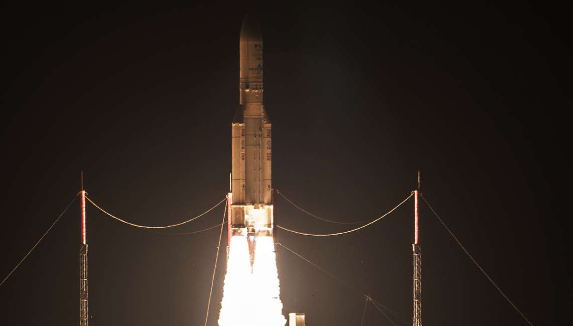 Launch Ariane VA232 on 24th August 2016 from Toucan with Intelsat 36