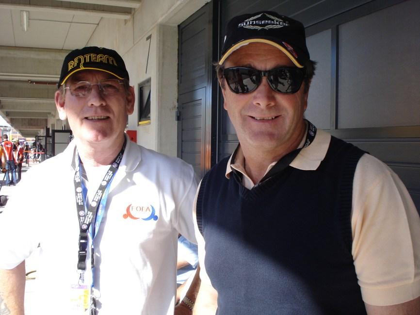 @TonyJaveaF1 with Mansell