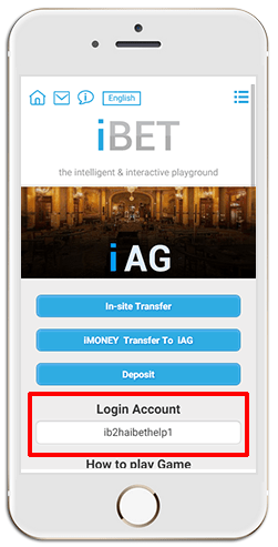 Installing iAG on iPHONE (iOS)-step 2