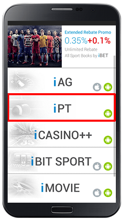 Installing iPT on Android Slot Games-step 1
