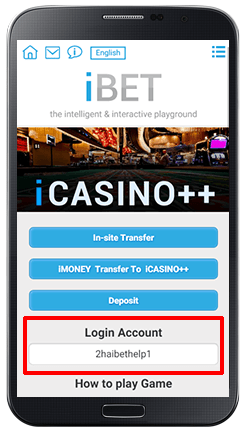Installing iCASINO++ on Android-step 2