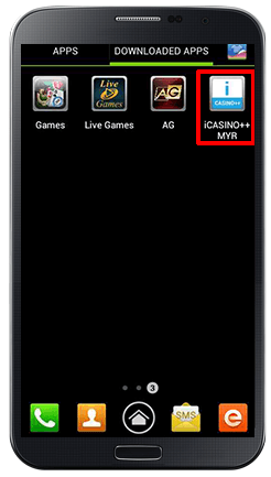 Installing iCASINO++ on Android-step 11