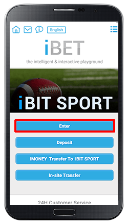 Accessing iBIT SPORT-step 2