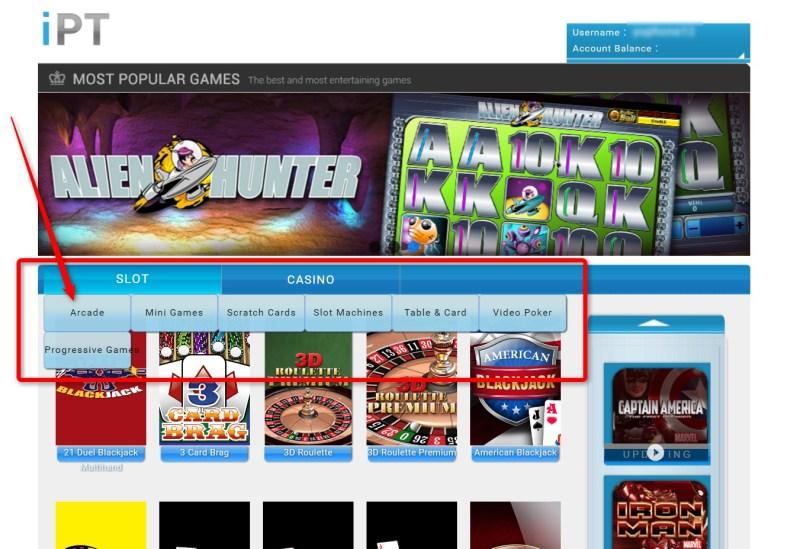 iBET Online Casino Malaysia Slot Games Newtown in iPT