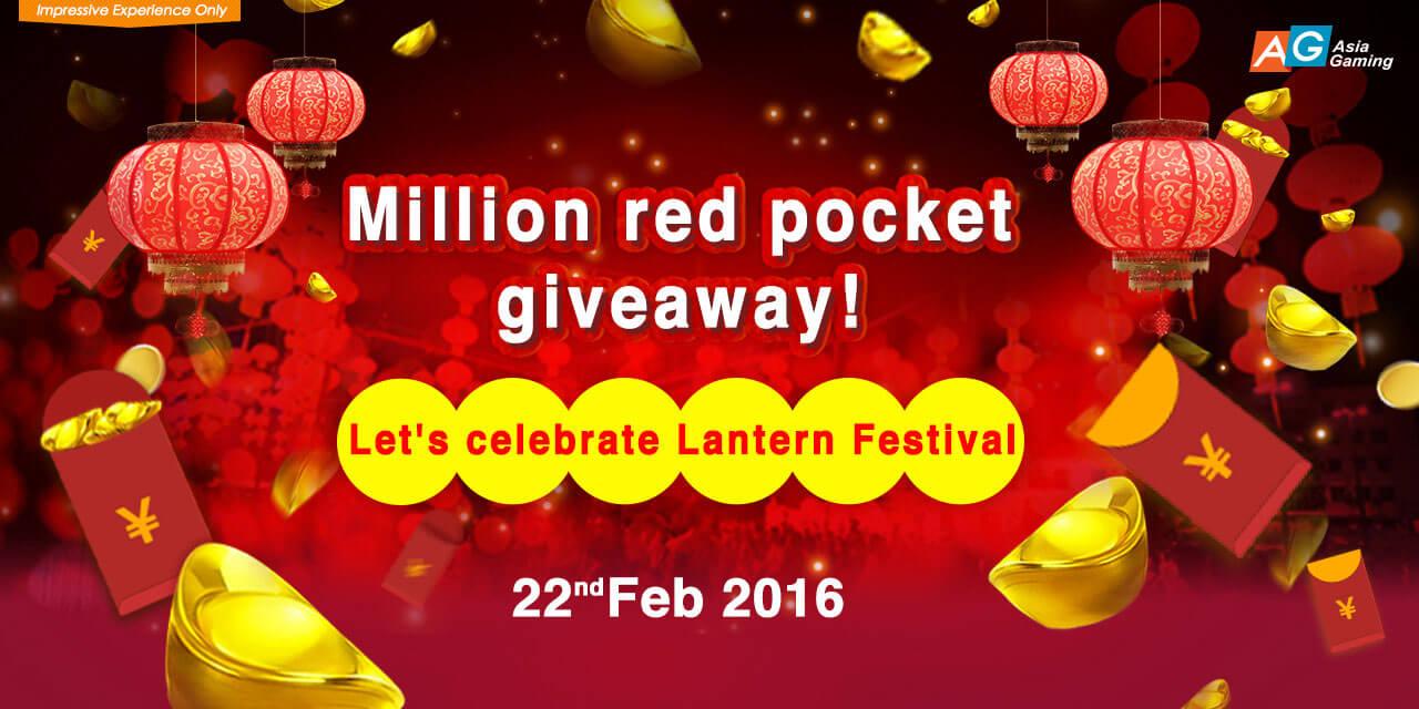 iBET Casino AG Million Dollars Red Envelopes