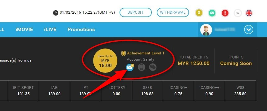 How To Verify Your E-Mail for Bonus in iBET Malaysia Online Casino-3