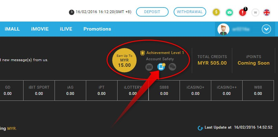 Verify Your iBET Mobile for Promotion Bonus Tutorial-8