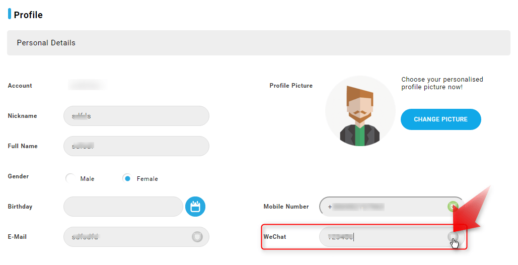 iBET Online Casino teach you verify Wechat get free RM5-3