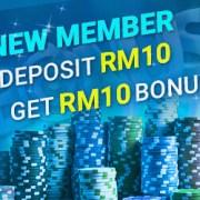 4Dresult Deposit RM10 Free RM10 Promotion!2