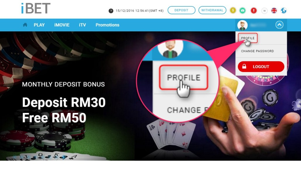 iBET Malaysia Online Casino Teach You How to Get Free Credit RM5