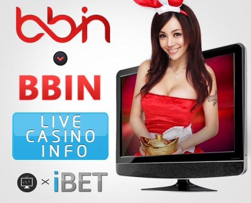 iBET Online Casino BBIN Games Live Casino Introduction