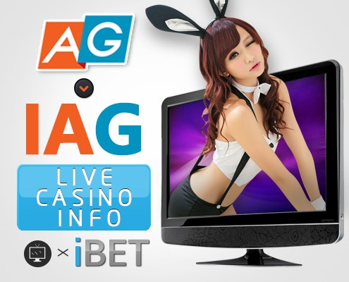 iBET Online Casino iAG Playform Live Casino info