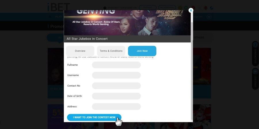 iBET Teaches You Join All Star Jukebox in Concert Lucky Draw tutorial - i want to join now