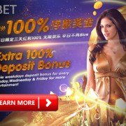 iBET Online Casino Malaysia - Extra 100% Deposit Bonus