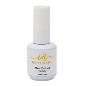 Matte Top Coat Gel Polish
