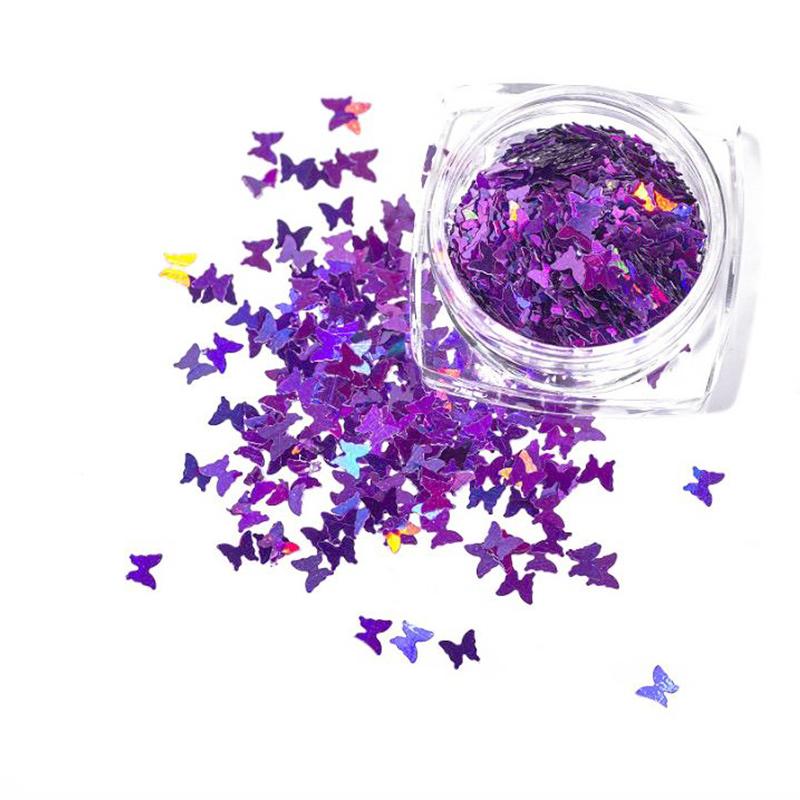 Set Glitter Butterfly