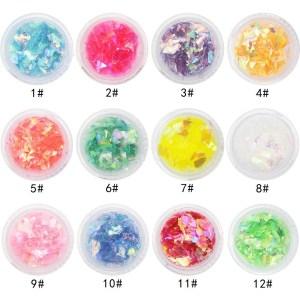 Set Glitter Flake