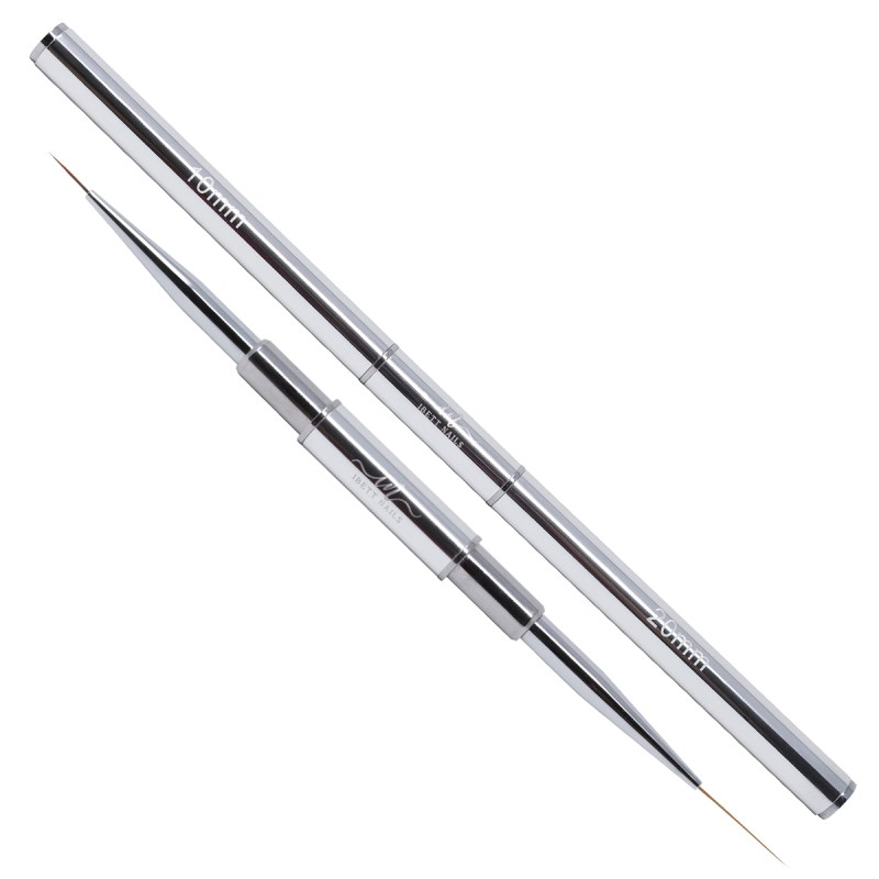 Double Liner Brush 10+20 mm (Silver)
