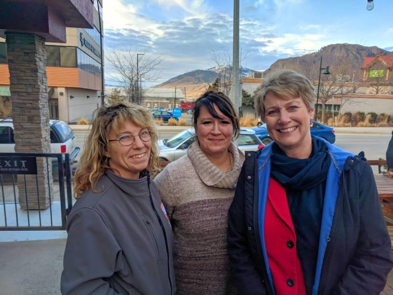 Mollie Routledge, Marci McDougall, & Katrine Conroy