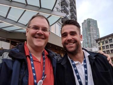 Darryl (993 Dispatcher) with Corey (230 Dispatcher)