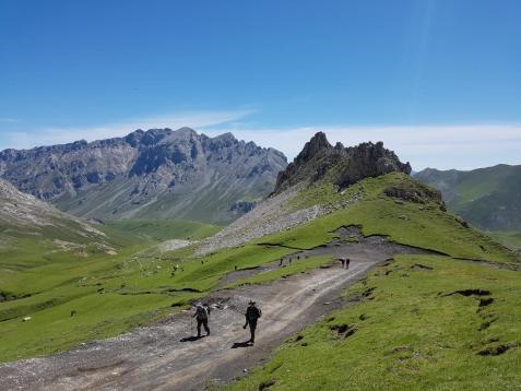 Self Guided In The Picos De Europa