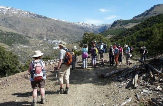 Group Walking Holidays Sierra Nevada