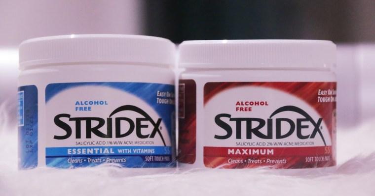 طريقة استخدام stridex
