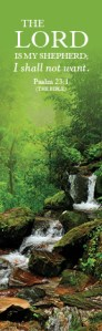 Psalm231_Bookmark 2019 ForestWaterfall